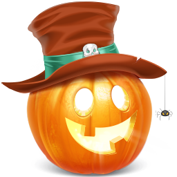 pumpkin, sale icon