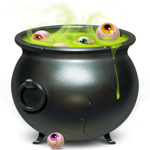 cauldron, wallet icon