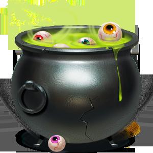 cauldron, wallet