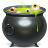 cauldron, halloween icon
