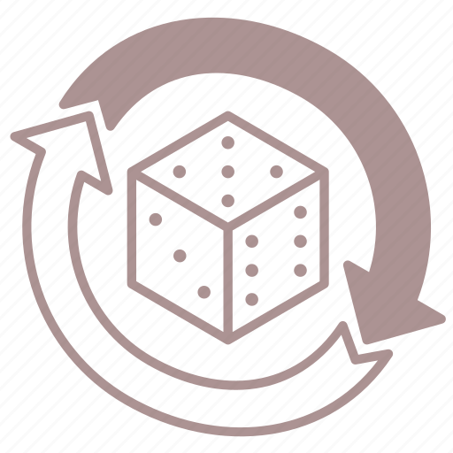 D6, dice, dice roll, reroll, roleplay, roll, tabletop icon - Download on Iconfinder