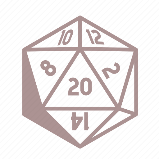 D12, dice, roleplay, tabletop icon - Download on Iconfinder