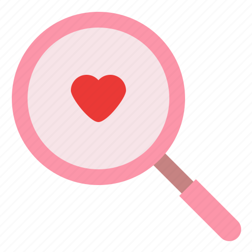 date, find, love, romance icon