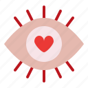 impress, love, romance, valentine icon