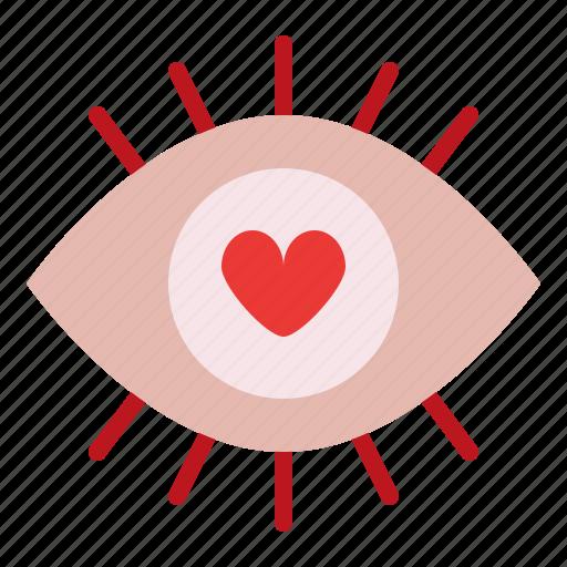 impress, love, romance, valentine icon