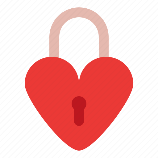 Heart, locked, love, romance icon - Download on Iconfinder
