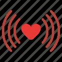 calling, love, romance, signal