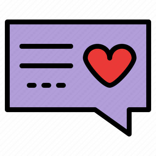Chat, dating, love, romance icon - Download on Iconfinder