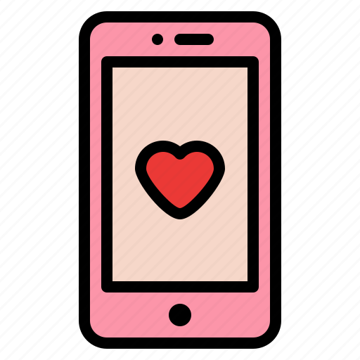Love, phone, relationship, romance icon - Download on Iconfinder