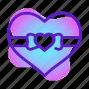 gift, heart, love, marriage, romance, valentine, wedding icon
