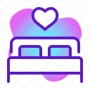 honeymoon, love, marriage, romance, valentine, wedding icon