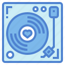 music, player, record, turntable, vinyl icon