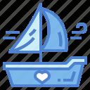 boat, sail, ship, travel