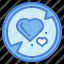 heart, love, romantic, shape icon