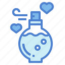 heart, hygiene, perfume, romantic icon