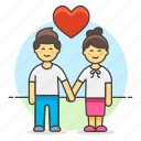boyfriend, couple, engagement, girlfriend, hand, heart, holding, in, iromance, love