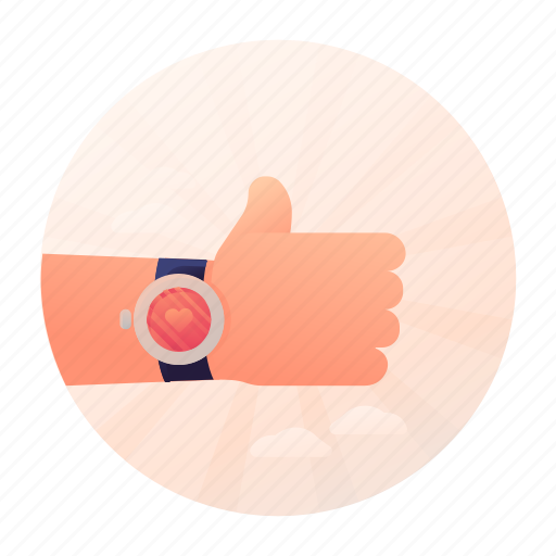 dating, like, thumbs, up icon
