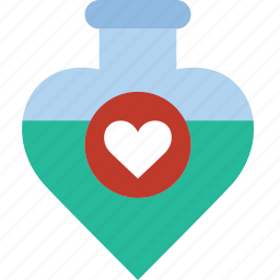 lifestyle, love, potion, romance icon
