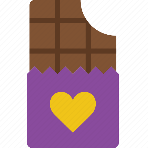chocolate, lifestyle, love, romance icon
