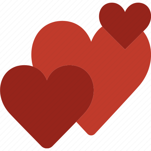 hearts, lifestyle, love, romance icon