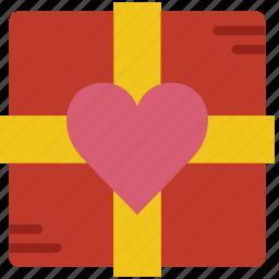 box, chocolate, lifestyle, love, romance icon