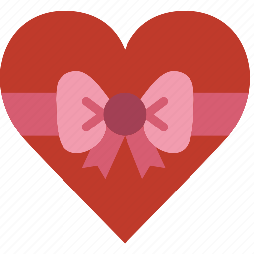 box, chocolate, lifestyle, love, romance icon