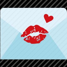 letter, love, mail, romance, romantic icon