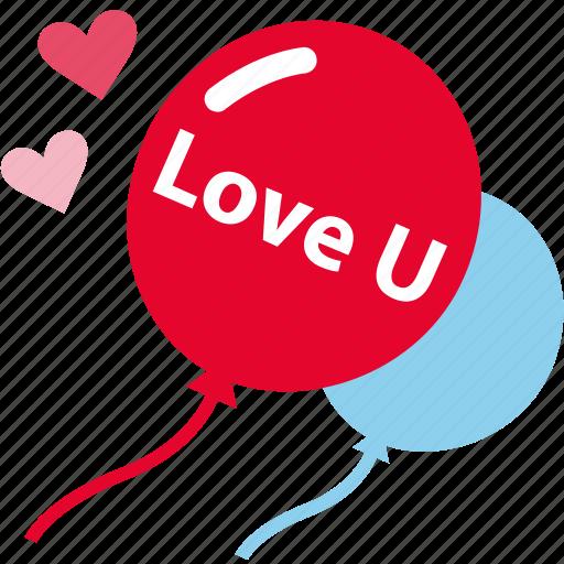 balloon, love, party, romantic icon