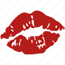kiss, lips, lipstick, mwah, red, romance, sexy icon