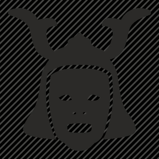 avatar, face, japan, mask, ronin, theather, warrior icon