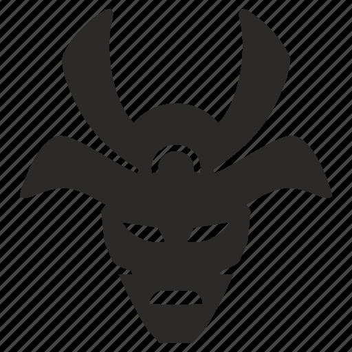 avatar, face, mask, ninja, ronin, soldier, warrior icon