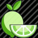 lime, citrus, food, fruit, vegetable