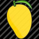 mango, fruit, food