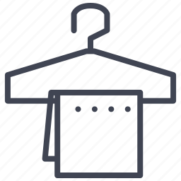 cloth, clothes, clothing, facilities, hanger, room icon