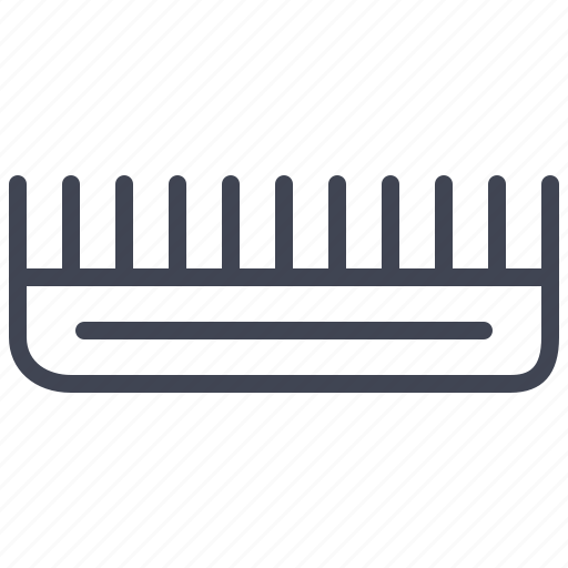 beauty, comb, hair, hairdressing, salon, styling icon