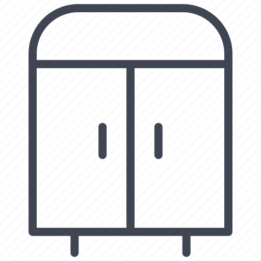 cabinet, cupboard, furniture, interior, storage icon