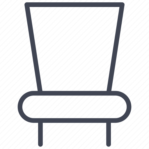chair, dining, furnishings, furniture, interior, room icon