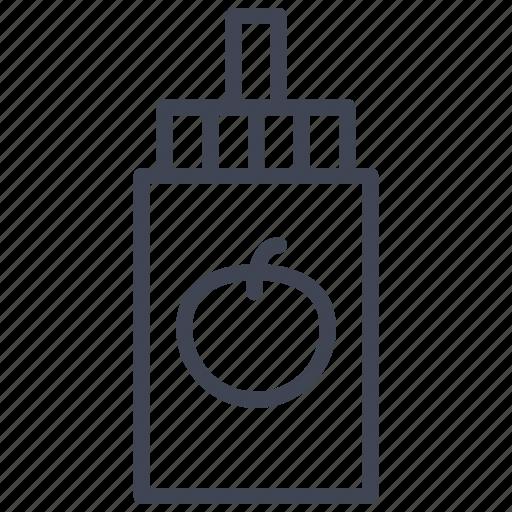 facilities, food, ketchup, kitchen, room, sauce icon