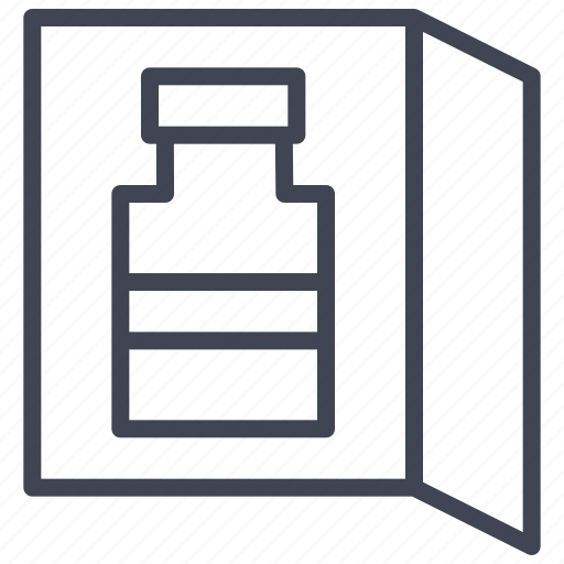 facilities, fridge, mini, refrigerator, room icon