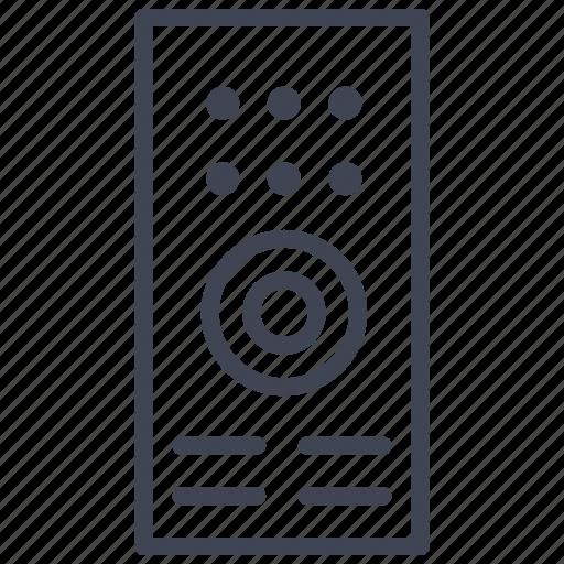 configuration, control, facilities, options, remote, room icon