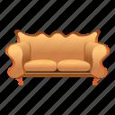 sofa, armchair, vintage, classic, chair