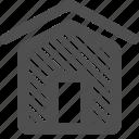 apartment, dashboard, home, homepage, house, main, menu icon