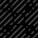 arrow, arrows, directional, expand, fullscreen, indicator, interface