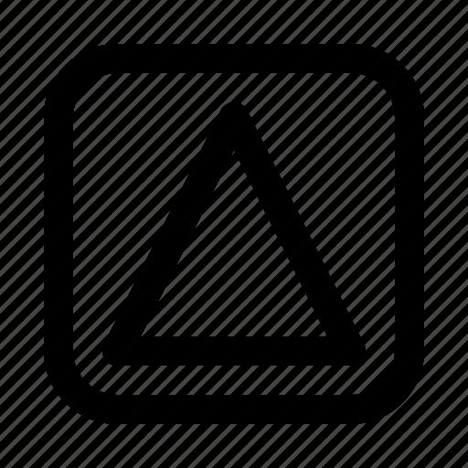 arrow, arrows, big, direction, move, up icon