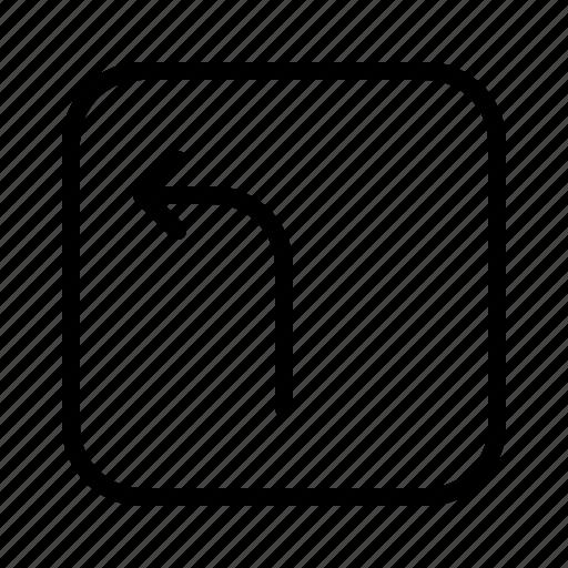 arrow, arrows, direction, left, move, turn icon