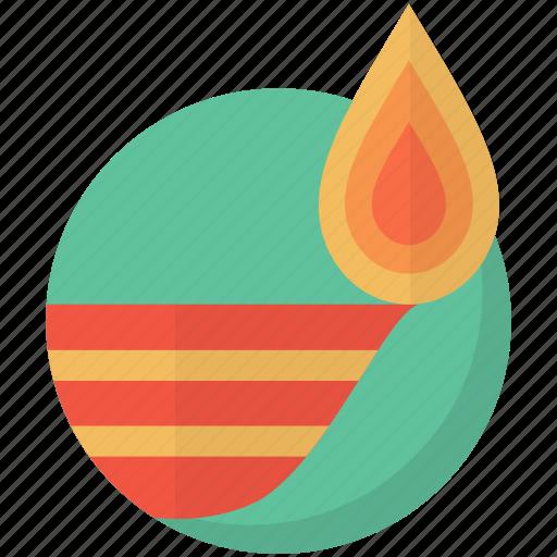 diwali, festival, hindu, indian, lamp, new, year icon
