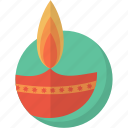 diwali, festival, hindu, indian, lamp, new, year icon