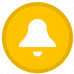 alarm, alert, bell, clock, ring, round icon