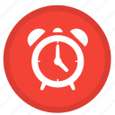 alarm, alerm, alert, clock, round, time, timer icon