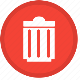 cancel, close, delete, exit, remove, trash, trashcan icon